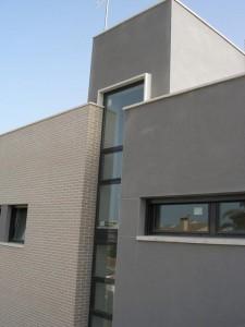 Torreón de escalera en vivienda unifamiliar